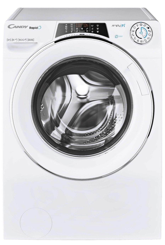 Candy Rapido RO1695DWHC7 9KG 1600 Spin Washing Machine