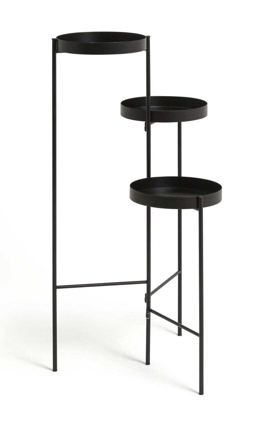 Habitat Planter Side Table - Black