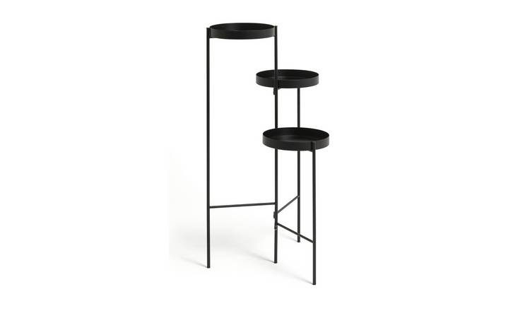 Habitat Planter Side Table - Black