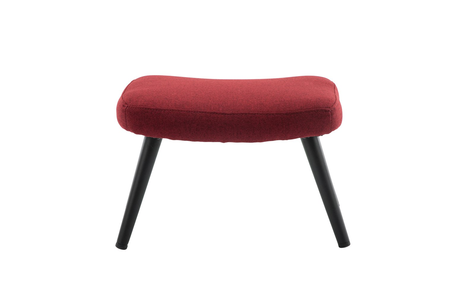 Argos Home Ollie Fabric Footstool - Red