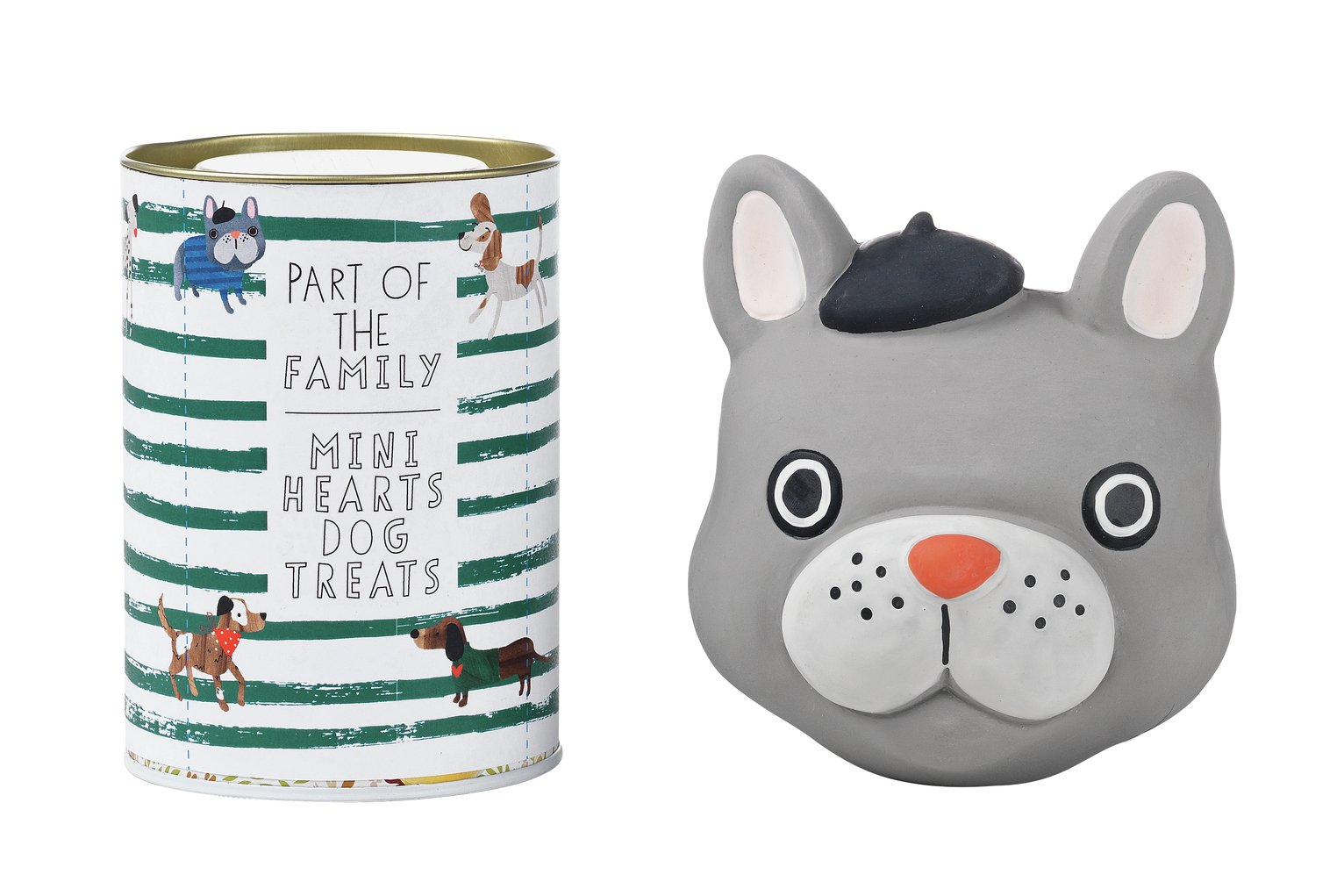 Part of the Family Dog Treat & Frenchie Toy Set
