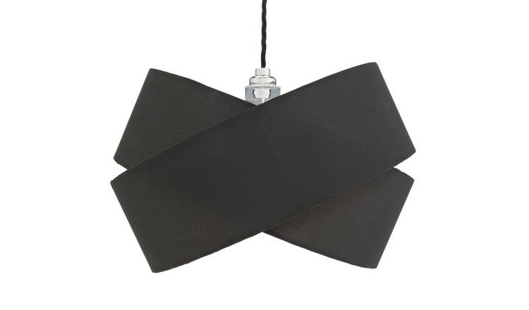 Argos Home Ribbon Shade - Black