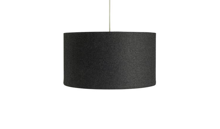 Argos Home Felt Box Shade - Grey