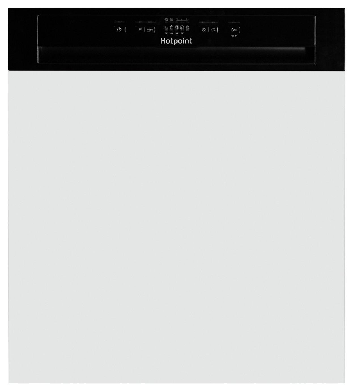 Hotpoint HBC2B19UK Full Size Integrated Dishwasher - Black