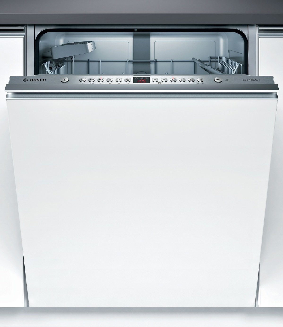 Bosch SMV46JX00G Fully Integrated Dishwasher Stainless Steel