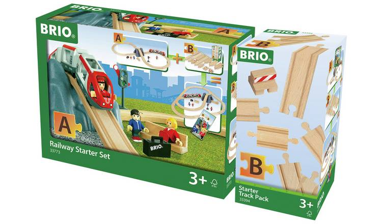 Remarkable Buy Brio World Railway Starter Set Track Pack Toy Trains Argos Machost Co Dining Chair Design Ideas Machostcouk