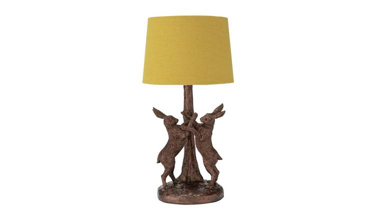 Argos Home Boxing Hare Table Lamp