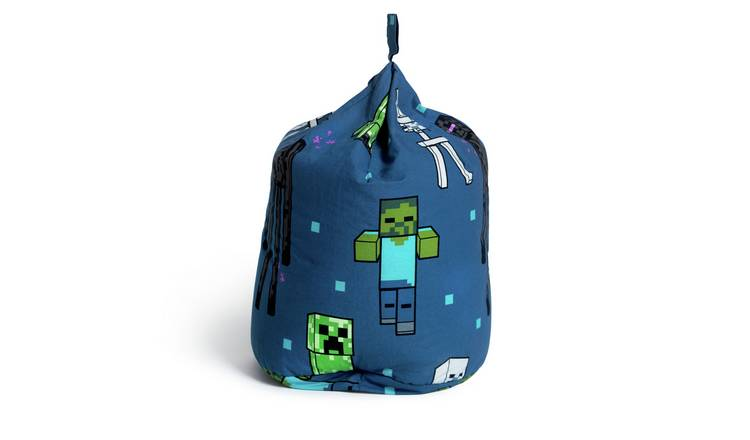 Minecraft Creeps Cotton Bean Bag