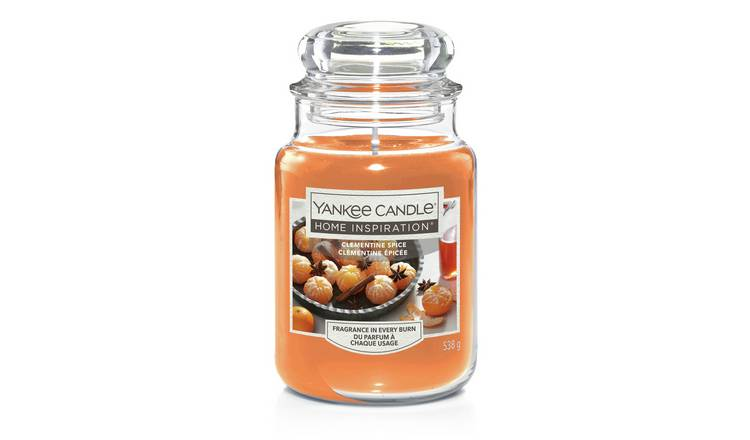 Home Inspiration Large Jar Candle - Clementine Spice