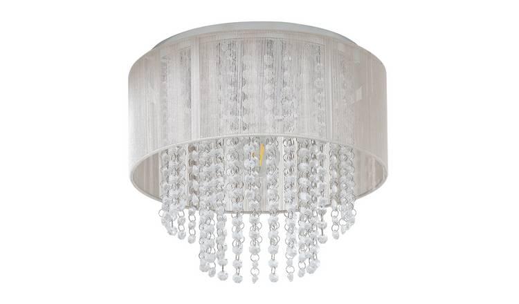 Buy Argos Home Siena Flush To Ceiling Light Chrome