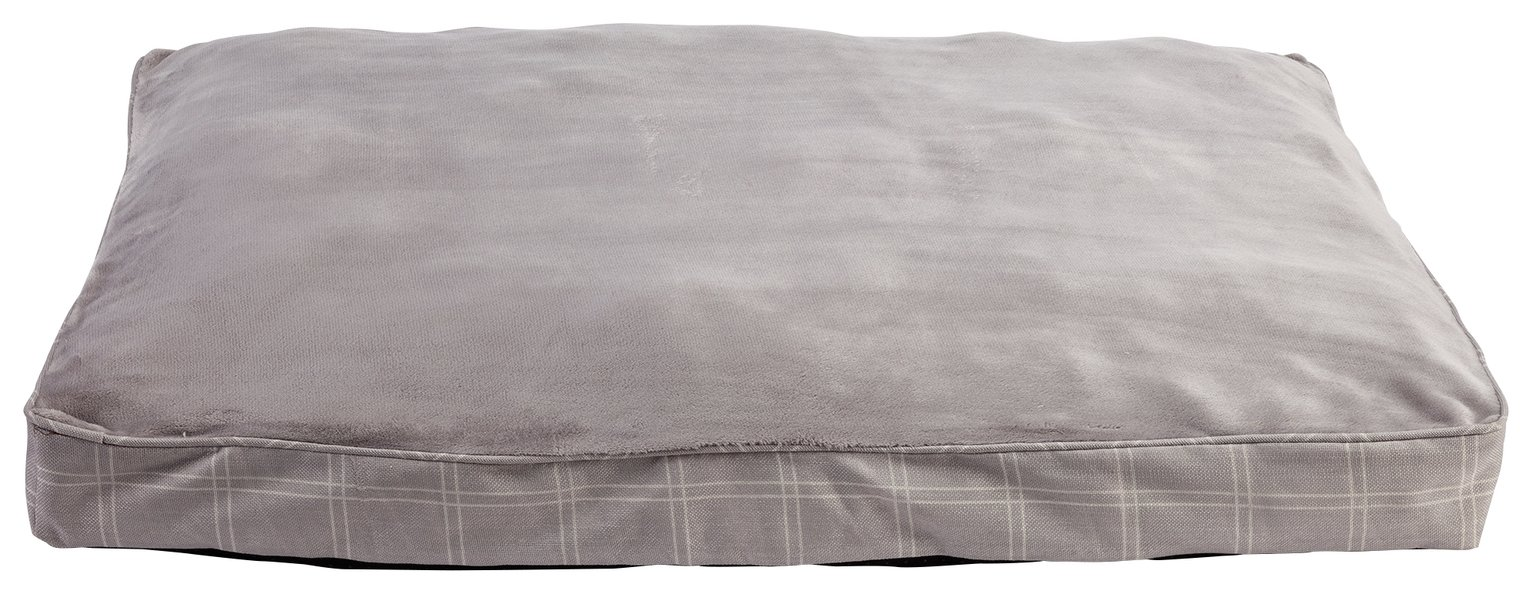 Country Check Pet Mattress - Large