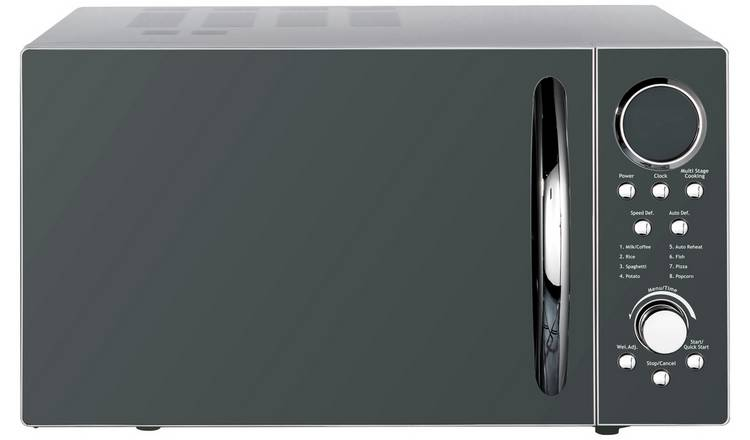Morphy Richards 900W Standard Microwave P90D23EL-B8 - Silver