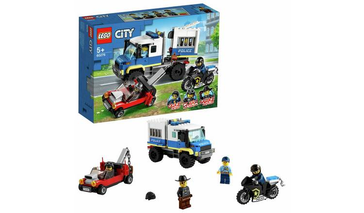 LEGO City Police Prisoner Transport Truck Toy 60276