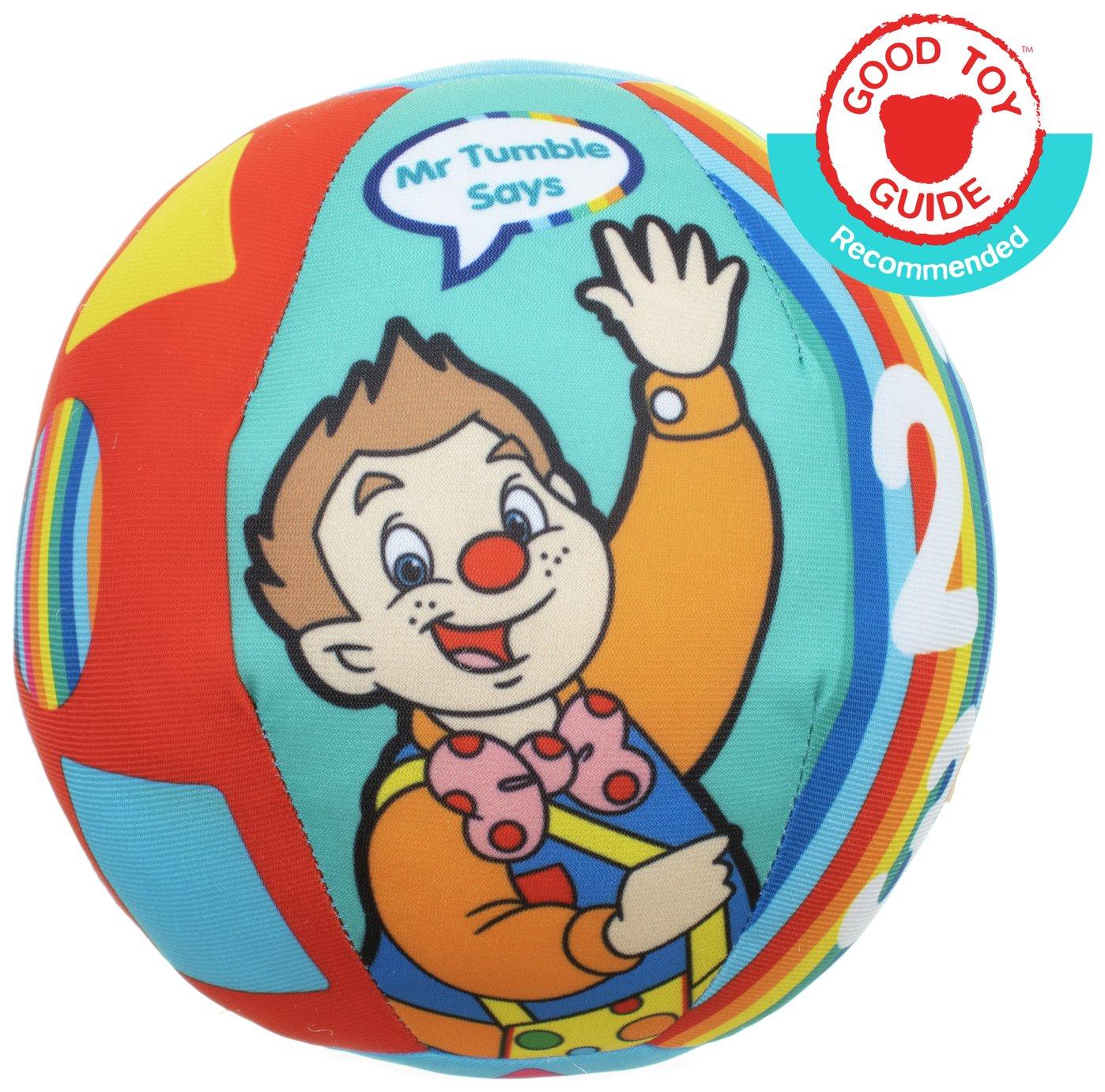 Spotty Ball Mr Tumble Fun Sounds Soft