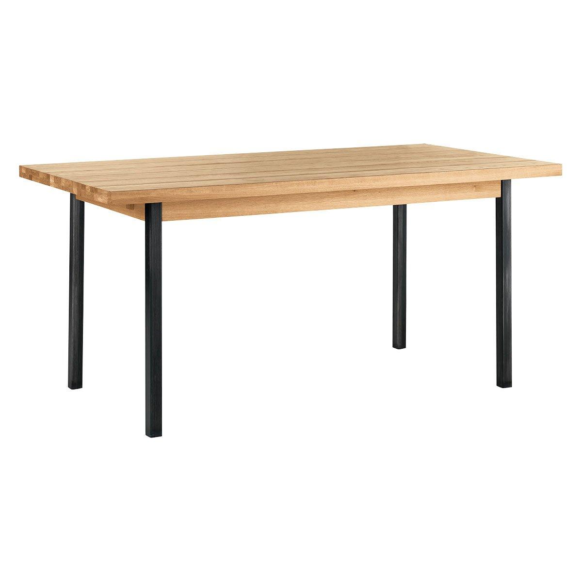 Habitat Feliz Extending Wood Oak 6 to 12 Seater Dining Table