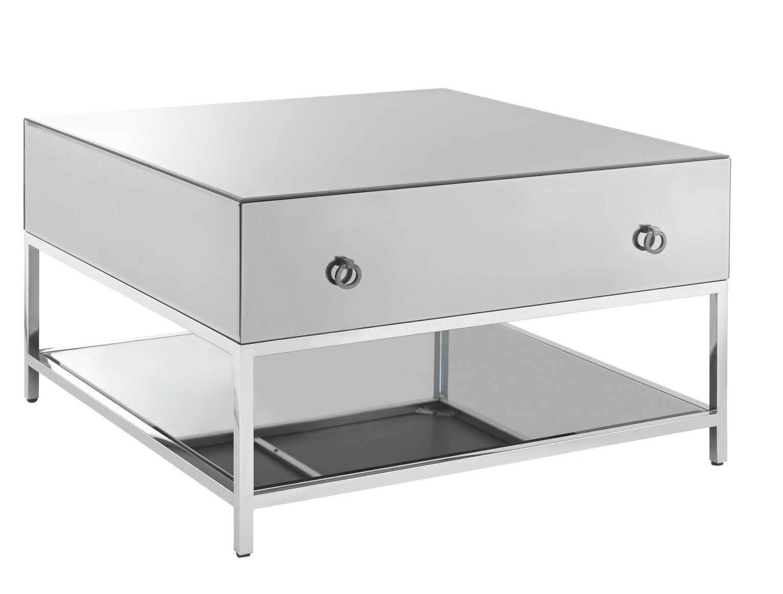 Argos Home Bianco Smoked Mirror Coffee Table