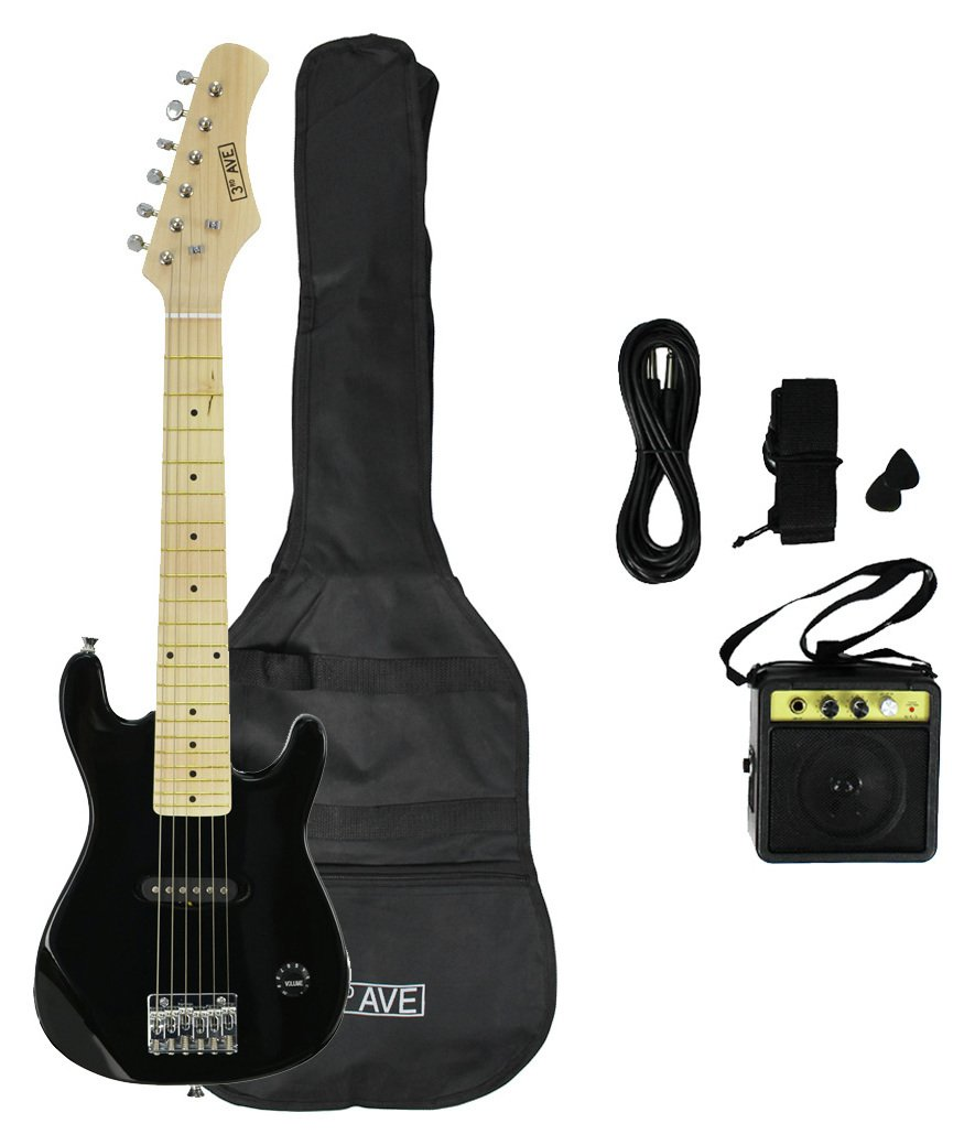 3rd Avenue 1/4 Size Junior Electric Guitar and Accessories