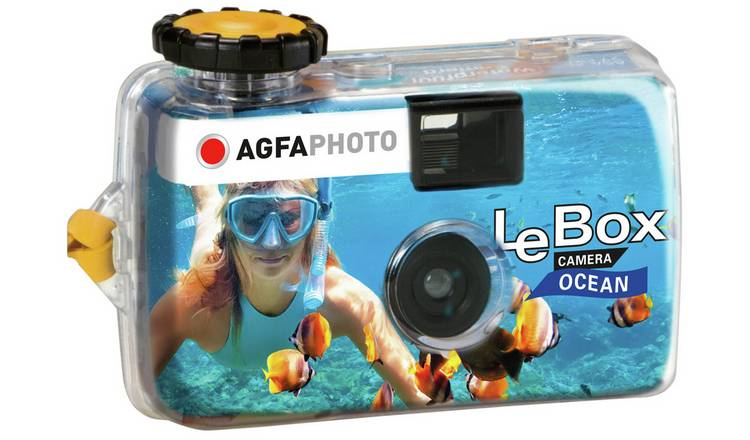 AGFA Single Use 27 Exposure Waterproof Camera