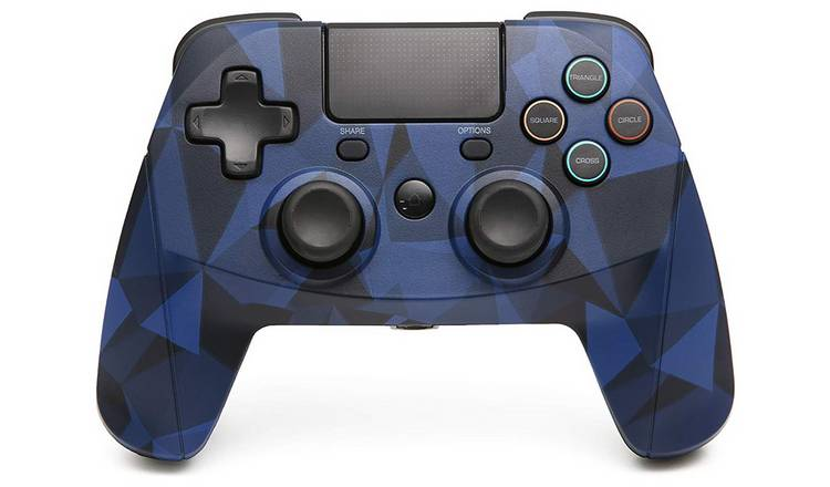 Snakebyte Game:Pad 4S PS4 Wireless Controller - Camo Blue