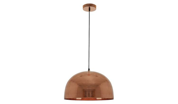 Habitat Pari Pendant Ceiling Light - Copper