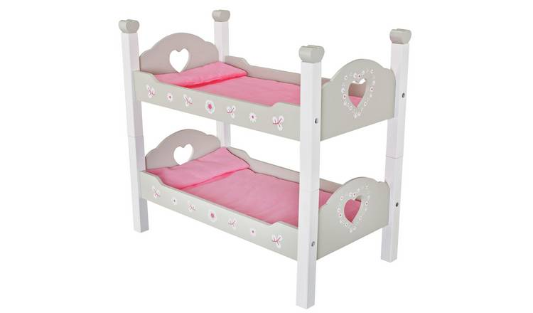 Buy Chad Valley Babies To Love Wooden Doll S Bunkbed Dolls Furniture Argos