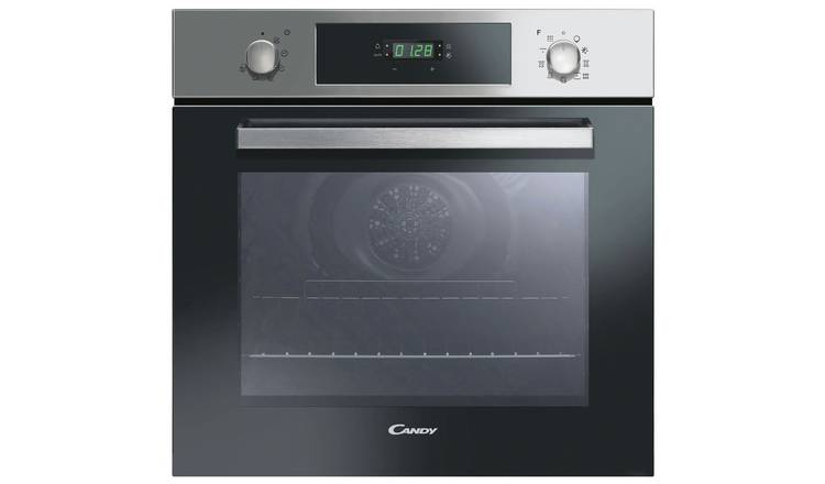 Candy FCP886X Built In Pyrolytic Single Oven - S/Steel