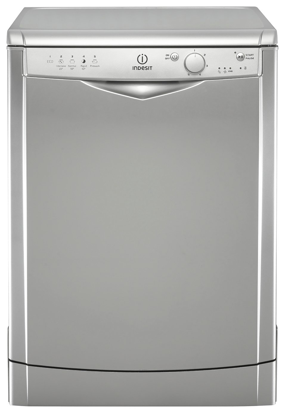 Indesit DFG15B1S Full Size Dishwasher - Silver