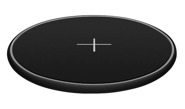 Juice 15W Qi Enabled Wireless Charging Pad - Black