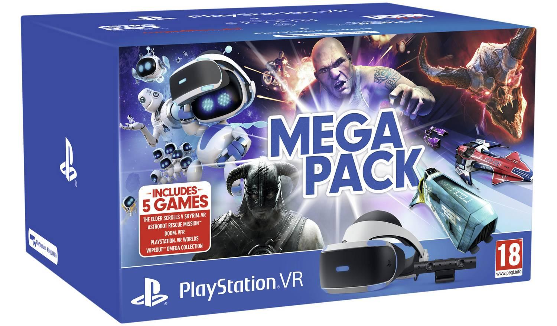 Sony Playstation VR Mega Pack Bundle