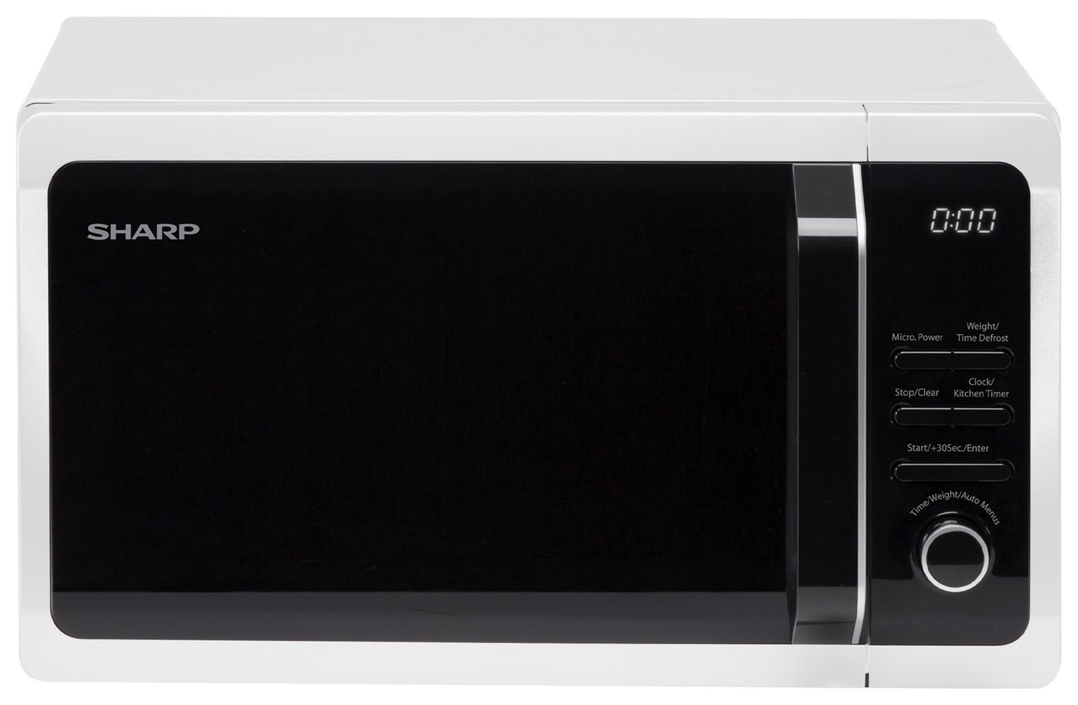 Sharp 800W Standard Microwave R274WM - White