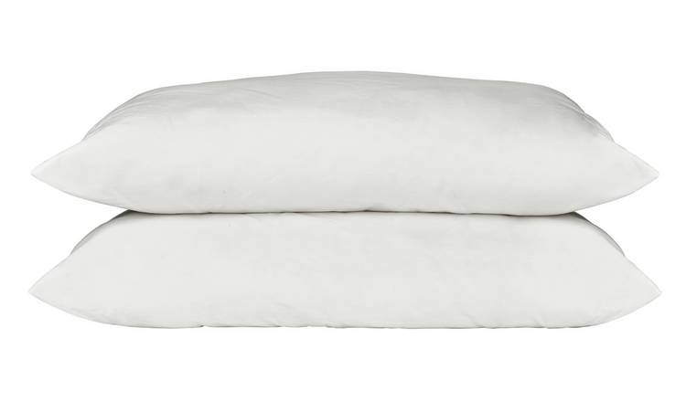 Argos Home Supersoft Washable Soft Pillow - 2 Pack