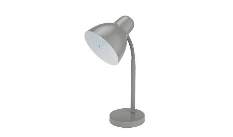 Argos Home Desk Lamp - Flint Grey