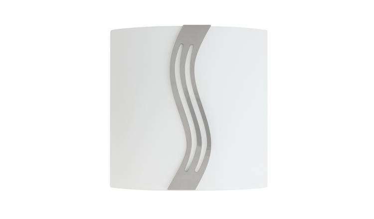 Argos Home Dusty Frosted Wall Washer Light - Silver
