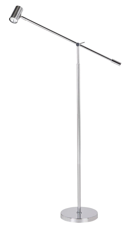 Argos Home Huxley Floor Lamp - Chrome
