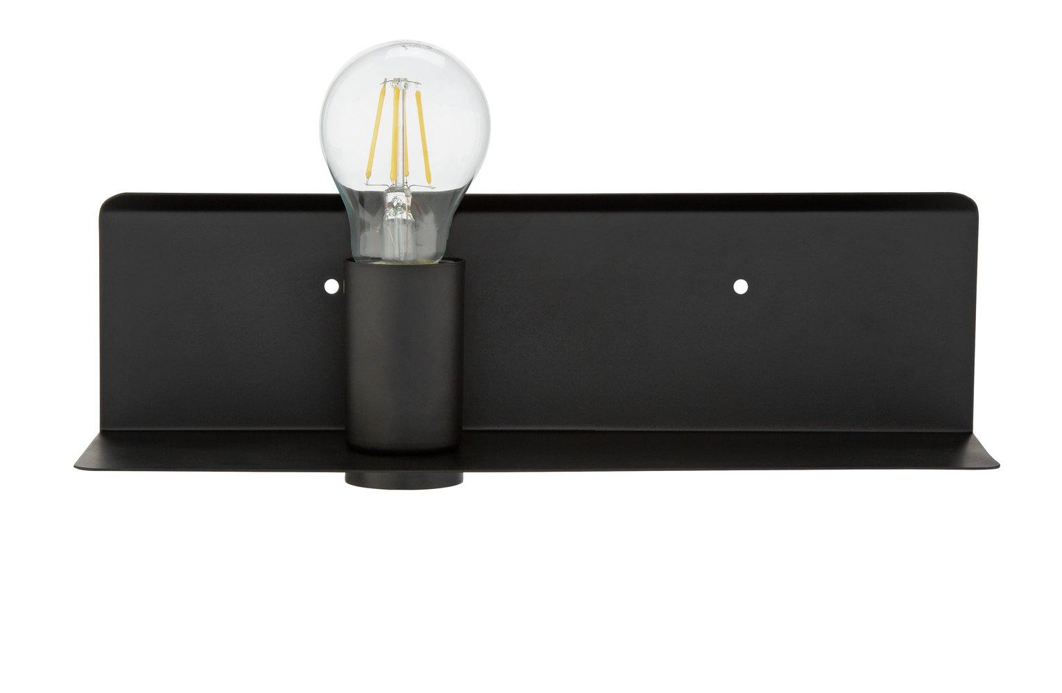 Argos Home Kanso Shelf Light - Black