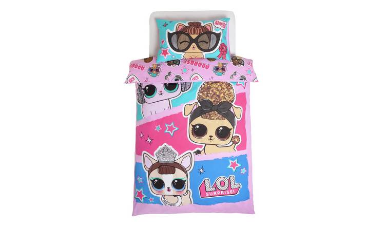 LOL Surprise Pets Children's Bedding Set - Single