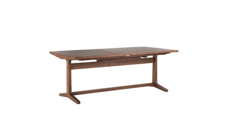 Buy Habitat Parker Extending 8 12 Seater Dining Table Walnut Dining Tables Habitat