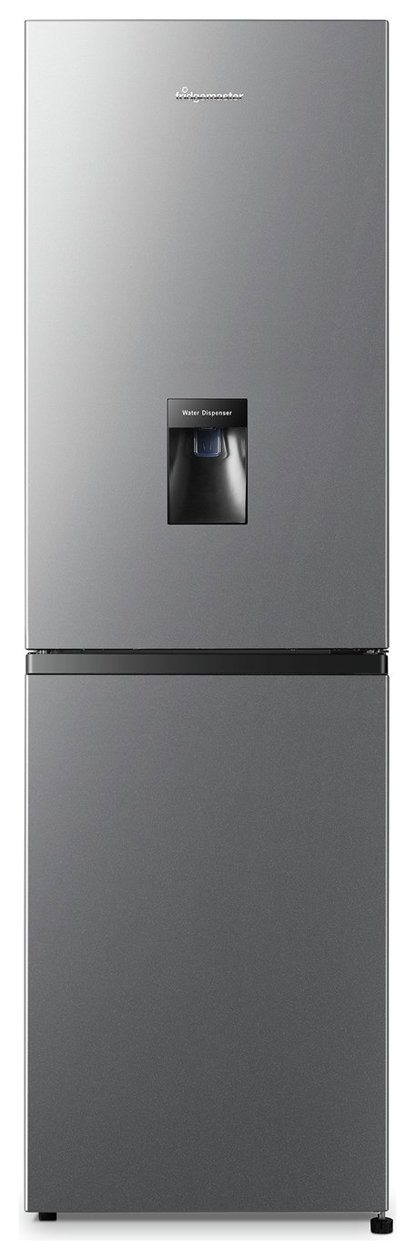 Fridgemaster MC55251MDS Frost Free Fridge Freezer - Silver