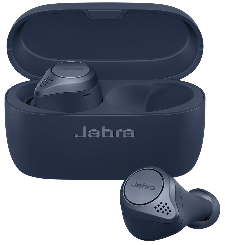 Jabra Elite Active 75T In-Ear True Wireless Headphones -Navy
