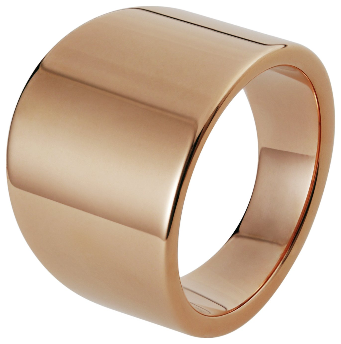 Inara Rose Gold Plated Ceramic Graduated Ring