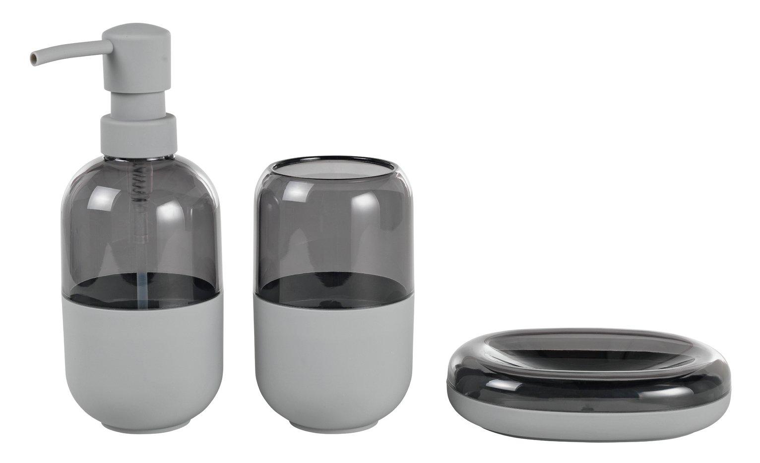 Argos Home Capsule Accessory Set - Flint Grey