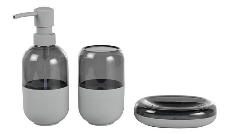 Argos Home Capsule Accessory Set - Flint Grey