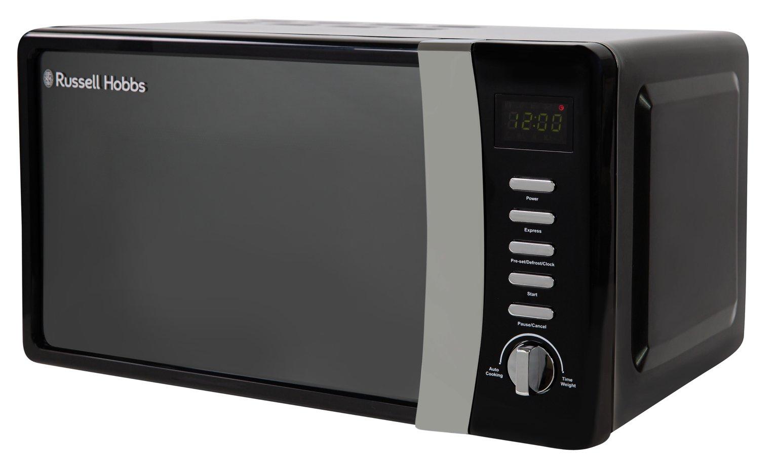 Russell Hobbs 700W Standard Microwave RHMD712 - Black