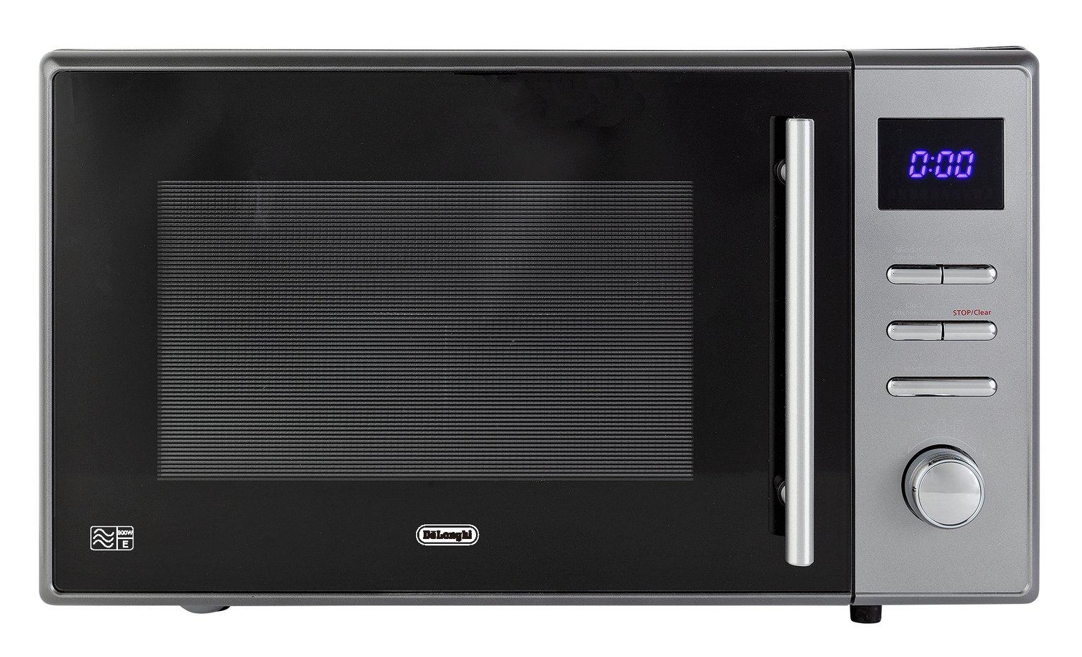 De'Longhi 900W Combination Microwave AC925 - Grey