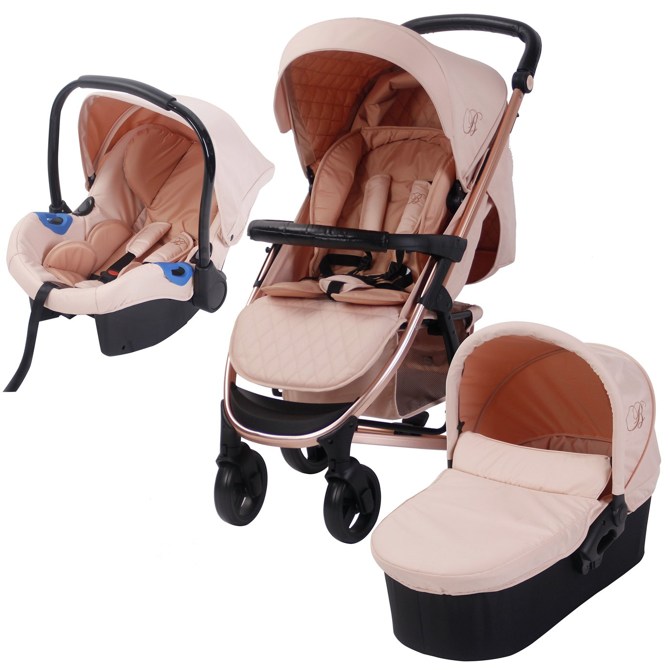 Carrycot Raincover Compatible with My Babiie Mb200
