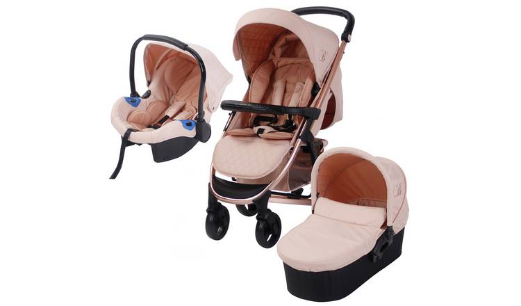 My Babiie Billie Faiers MB200 Travel System - R Gold & Blush
