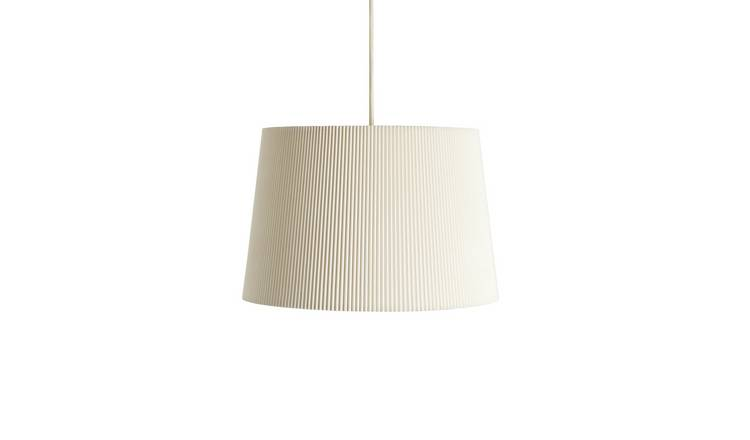 Argos Home Micropleat Shade - Ivory