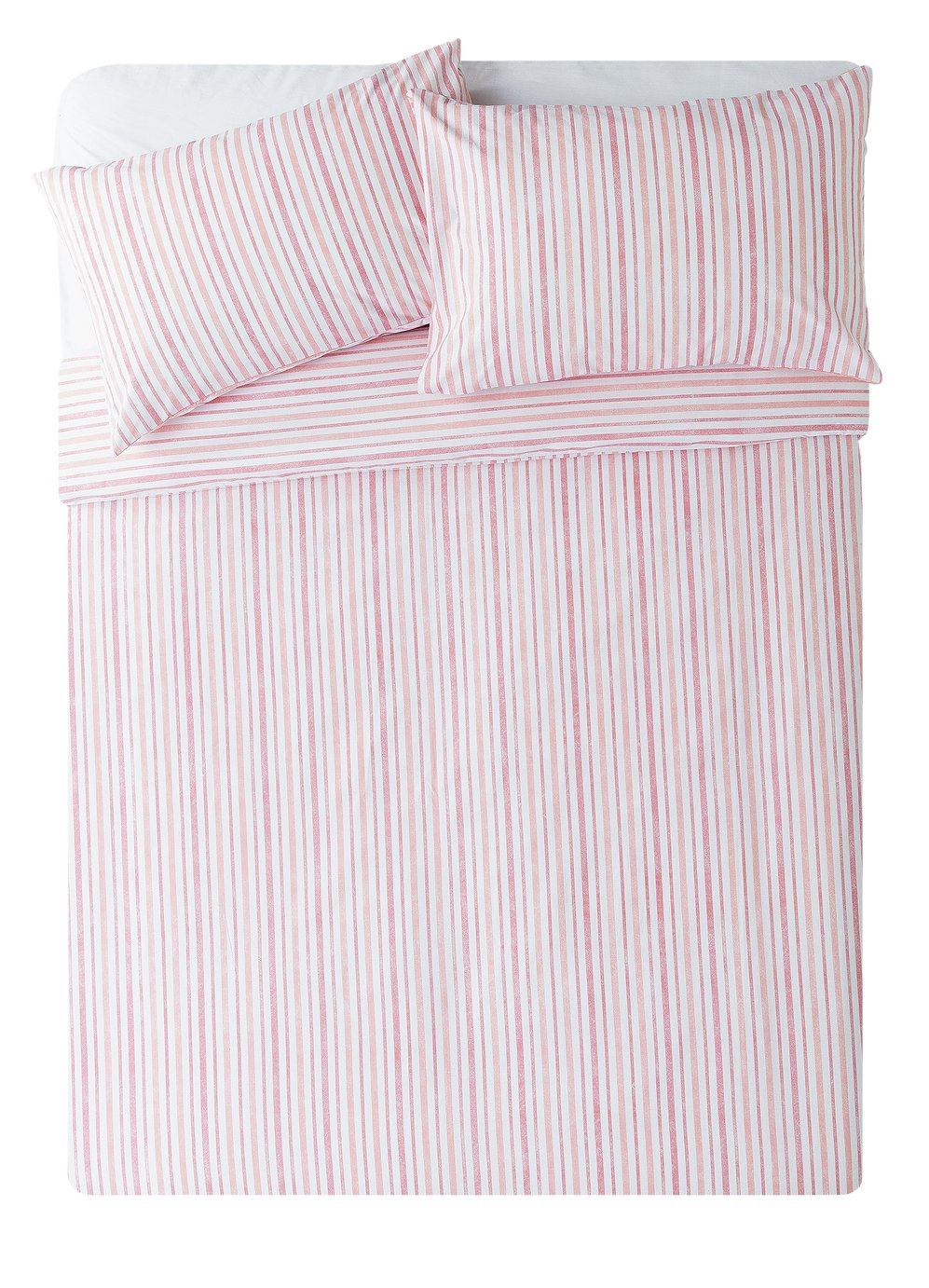 Argos Home Striped Bedding Set - Double