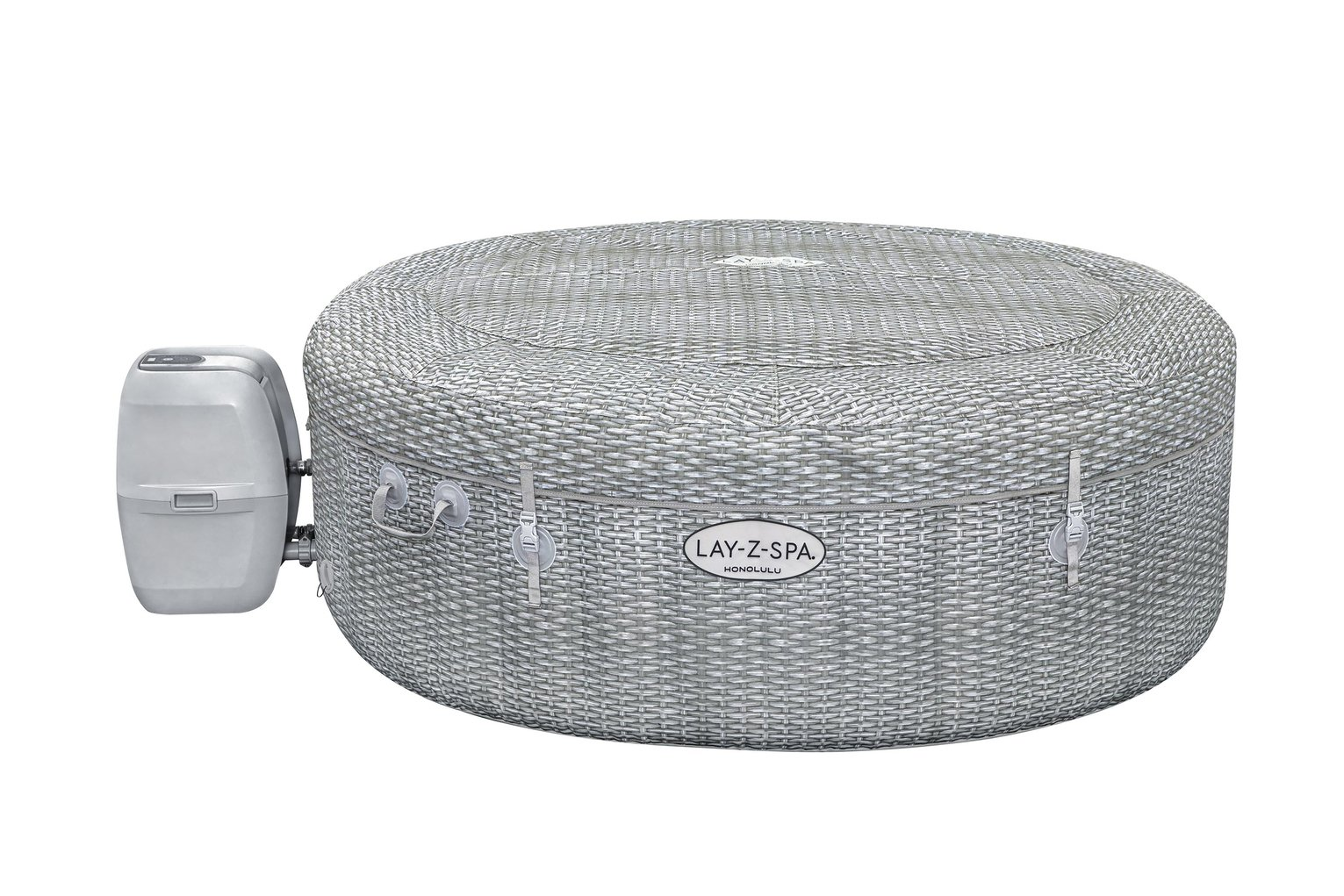 Lay-Z-Spa Honolulu 6 Person LED Hot Tub - Home Delivery Only