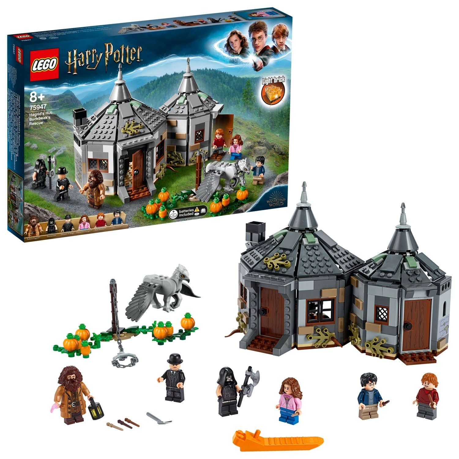 LEGO Harry Potter TM Hagrid's Hut: Buckbeak's Rescue - 75947